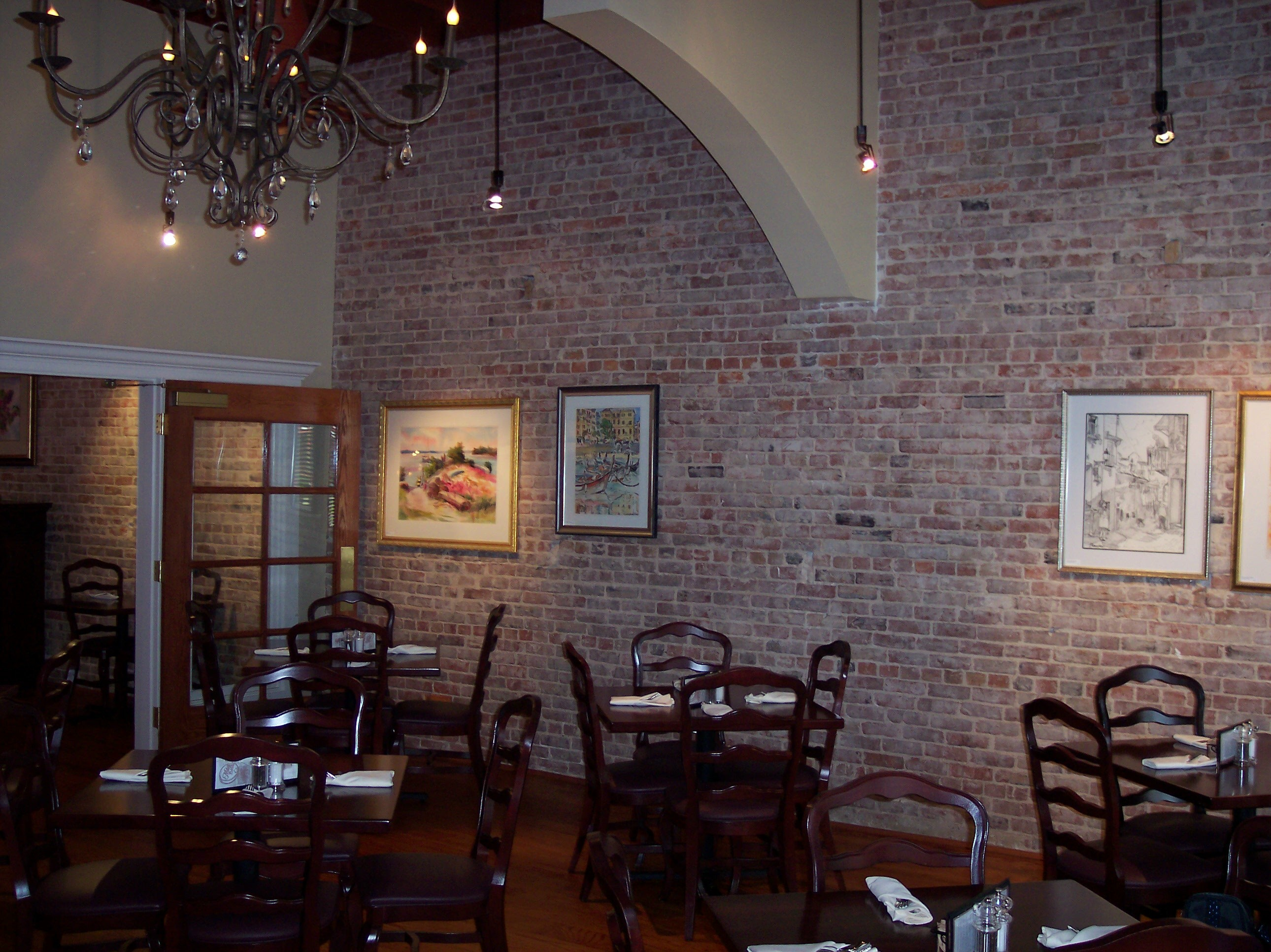 The chandelier room mikes place restaurant conway arkansas the chandelier room arubaitofo Gallery